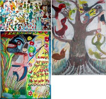Mokarameh Ghanbari: About, Artworks and shows