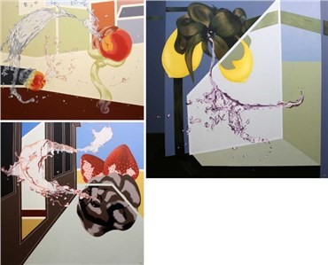 Leila Rezvani: About, Artworks and shows