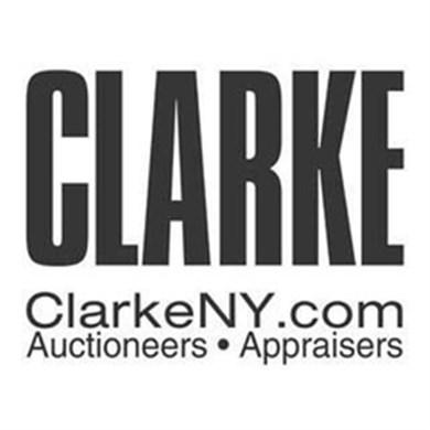 Clarke Auction Gallery logo