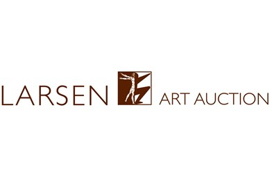 Larsen Art Auction logo