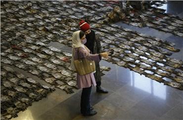 7 curators accompany the Tehran Sculpture Biennale