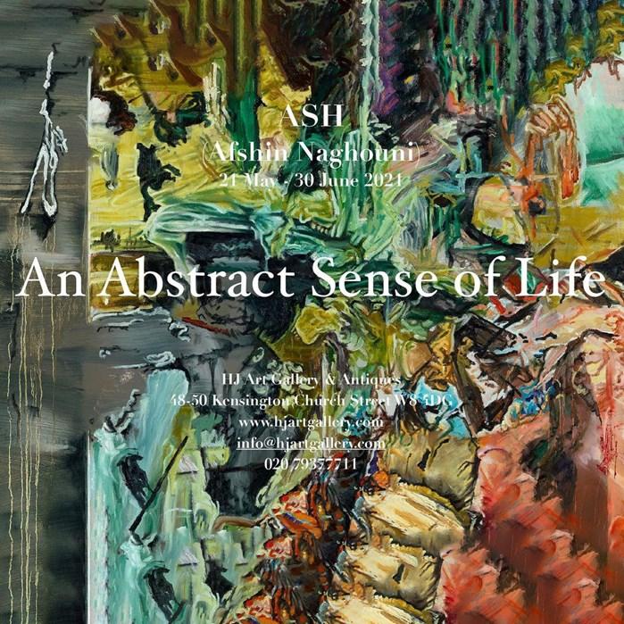 Show An Abstract Sense of LifeFrom Afshin Naghouni