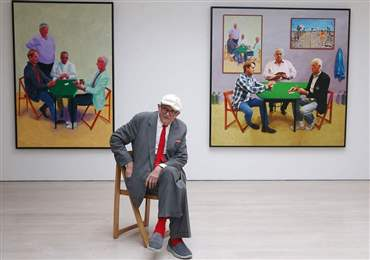 David Hockney: Tate Britain to chart 'unique' artist's six-decade career