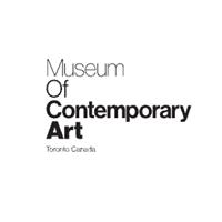 MOCA Toronto logo